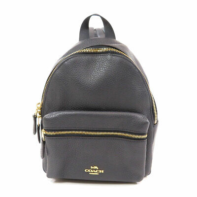 COACH  F28995 Backpack · Daypack Logo motif Leather