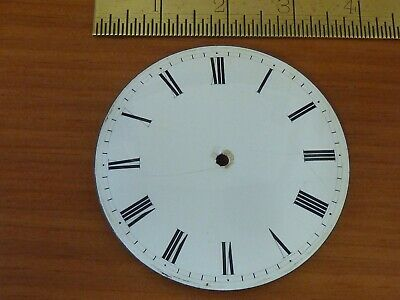 "Antique French Clock 3 1/2"" Enamel Dial  (A)"