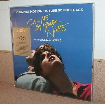 Call Me by your name NEW 2 transparent red vinyl LP gatefold cover Music Vinyl