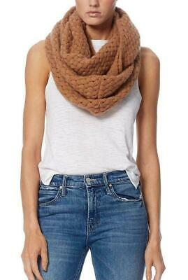 Skull 360Cashmere Monica Basketweave Cashmere Infinity Scarf Tan One Size