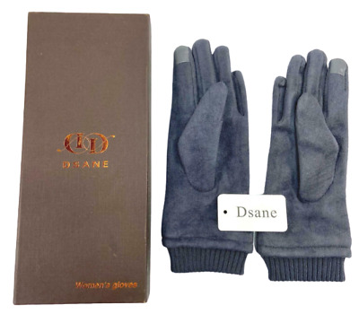 Dsane Women Winter Warm Touch Screen Phone Windproof Wear Lined Thick Gloves
