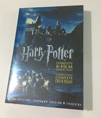 Harry Potter: Complete 8 (DVD, 2011, 8-Disc Set) Film Collection NEW SEALED
