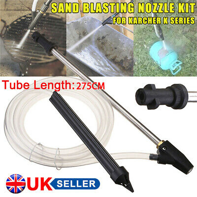 Sand Blaster Hose Sandblasting Tube Wand Gun For Car Washer Karcher K2-K7 NEW