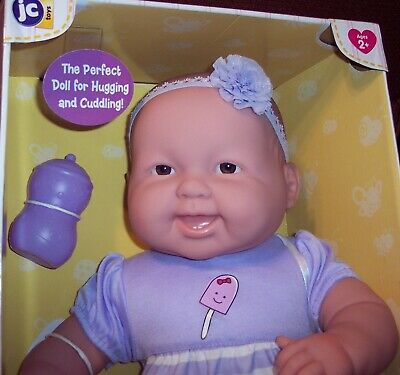 "RETIRE VHTF Berenguer 20"" Lots To Cuddle Babies 2016 JC Toys Baby Doll Pacifier"