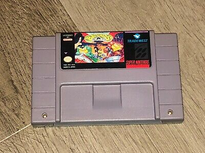 Battletoads in Battlemaniacs Super Nintendo Snes Cleaned & Tested Authentic