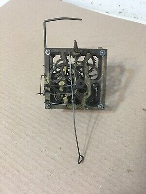 Antique Signed GK Gerbruder Kuner Cuckoo Clock Movement Parts