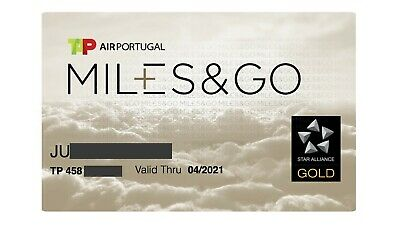 Star Alliance Gold Status for 1 year (TAP Portugal)