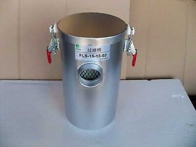 """AIR FILTER BARREL (With Filter Element) for Regenerative Blowers, 2-1/2"""" IN/OUT"""