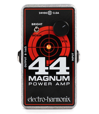 EHX Electro-Harmonix 44 Magnum Power Amp in a Effects Pedal