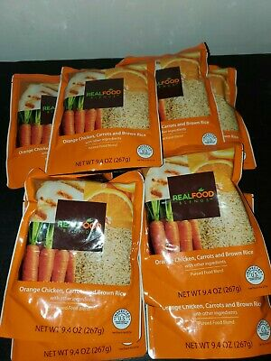 9 Real Food Blends Meal Orange Chicken Carrots Brown Rice