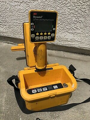 Dynatel 3M 2273M 2273  Cable Pipe Locator Underground Utility Line Tracer CPS