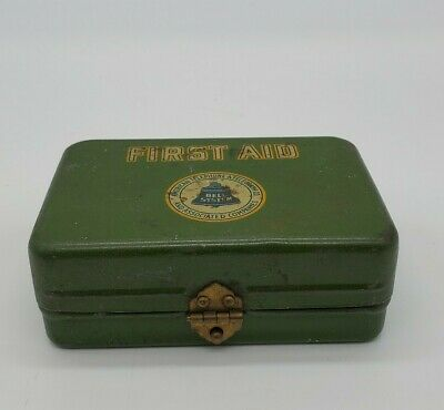 Vintage Bell Systems Lineman's First Aid Kit Tin.