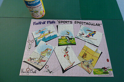 Footrot Flats Sports Spectacular Jigsaw 500 pieces  Complete  Murray Ball 1986