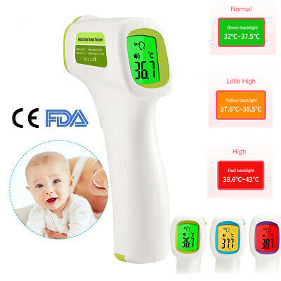 IR Infrared Thermometer Non-Contact Forehead Baby Adult Body Termometer CE FDA