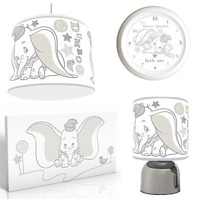 DUMBO  Light Shade , Touch  Lamp, Wall Art, Wall Clock or Bundle free p&p