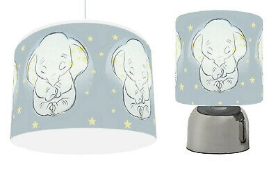DUMBO STARS GREY Light Shade , Touch  Lamp, or Bundle free p&p
