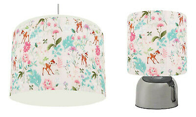 BAMBI PINK Light Shade , Touch  Lamp, or Bundle  free p&p