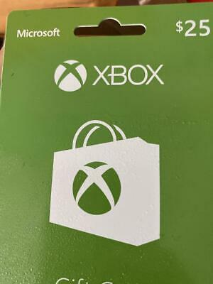 Xbox Wallet Gift Card - $25