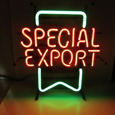 Authentic Special Export Beer Neon Light Sign  Coil Transformer RARE