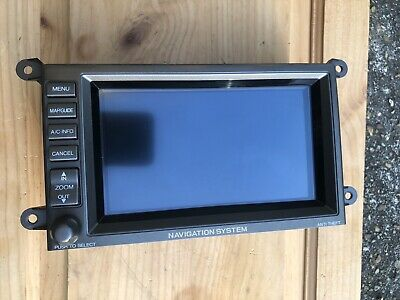 2004 Acura RL GPS Navigation Information Display Screen Made In Japan