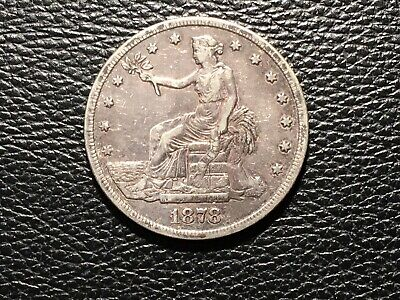 1878-S Trade Dollar Nice Condition May Have Been Cleaned At One Time
