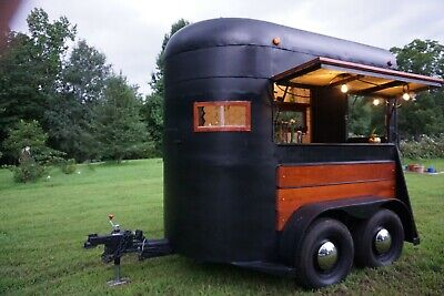 Horse Trailer converted into a Mobile Bar for special events