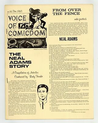 Voice of Comicdom #14 FN- 5.5 1968