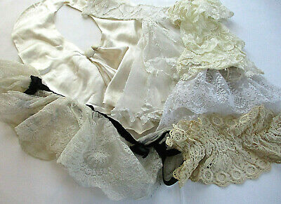 Vintage Crochet Assorted Jabots, Collars, and Ruffles