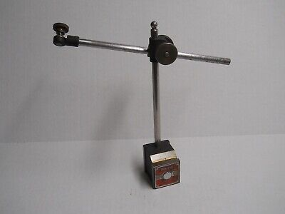 Starrett #657 Magnetic Base with Indicator Post Assembly   used
