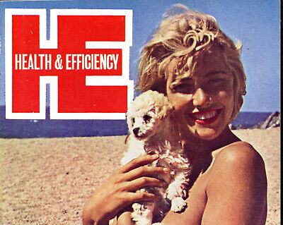 HEALTH and EFFICIENCY No.772:August 1965-Near Fine Condition-Grace Jackson