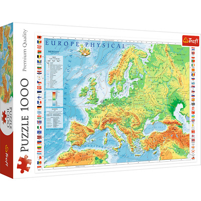 1000 Piece Jigsaw Puzzles Landscapes Animals Trefl Brand New Adult Kids Puzzle