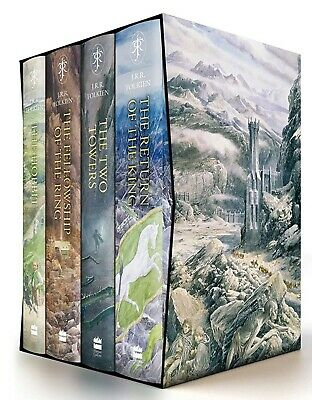 The Hobbit & The Lord of the Rings Boxed Set (Illustrated Edition) -PRESALE June