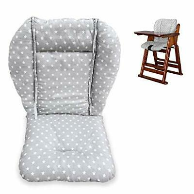 High Chair Cushion Seat Cover Baby Stroller Liner Mat Pad Breathable Protector