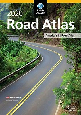 Rand McNally 2020 Road Atlas North America Updated NEW Edition Cross Country