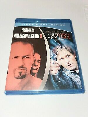 American Histroy X A History Of Violence Double Feature Blu Ray