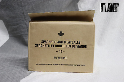 #16 Canadian Army Ration IMP MRE 2019 (Meals Ready-to-eat)