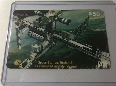 Space Station Option A NASA #15 Collectible Prepaid Calling Card