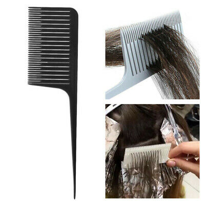 Professional One-way Sectioning Weave Highlighting Foiling Hair Comb
