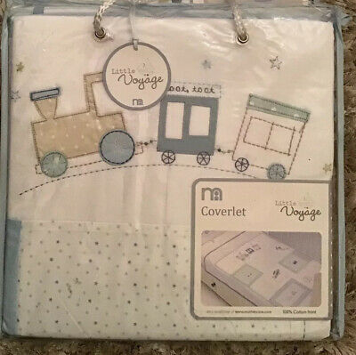 NEW Mothercare Little Voyage Coverlet For A Cot Or A Cot Bed 🌟 Bnip 🌟