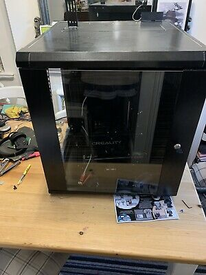 3D Printer Enclosure  Cabinet With Retro Fitted Lights Noise Reducer. Safety
