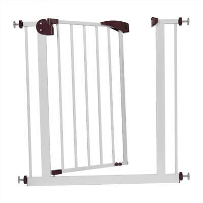 Pressure Fit Stair Gate Door Fence Safety Stair Child Baby Pet Safety 75Cm-84Cm