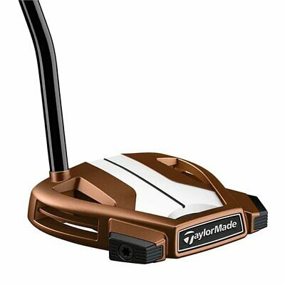 Left Handed TaylorMade Spider X Copper/White Single Bend Putter