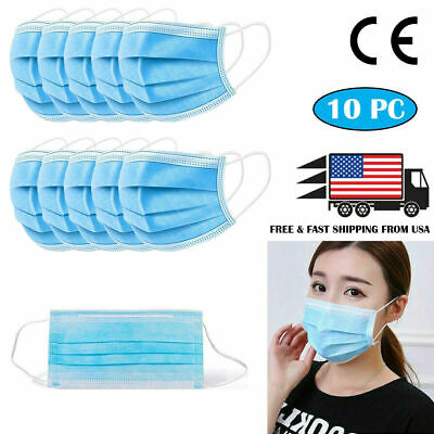 [SHIP FROM USA] Protective Face Mask (10PC)