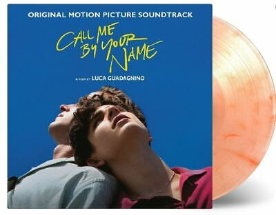 Call Me By Your Name OST Peach Colored 2 LP Vinyl Record Limited Edition Rare