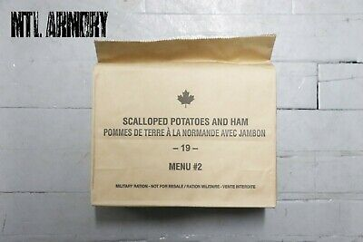 #02 Canadian Forces  IMP MRE Ration Canada Army (Meals Ready-to-eat)