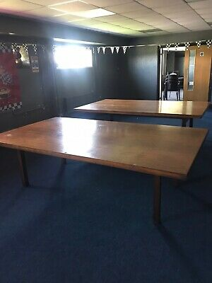 2 large Conference / Meeting table 8ft X 4ft6""