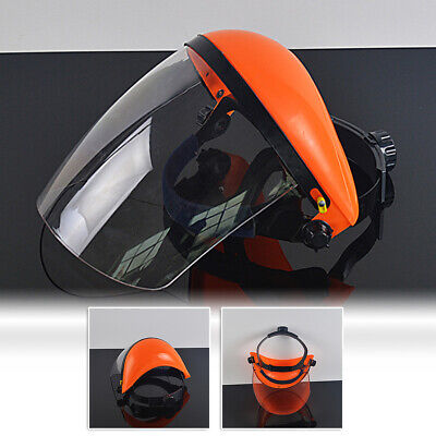 Safety Protective Splash Proof Full Head-mounted Face Eye Shield Screen Uk