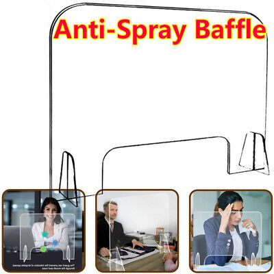 Sneeze Guard And Cough Anti-spray Protective Shield Protect for Office School