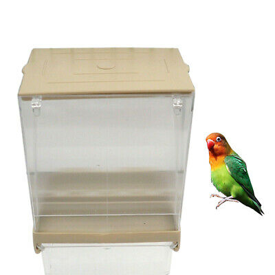 Pet Supplies Proof Bird Poultry Feeder Automatic Acrylic@Food ...