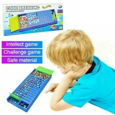 Family Party Gift Mastermind Code Breaking Craking Board Games Kids Children Toy